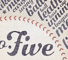 Number Five: August 2013 Fav Font